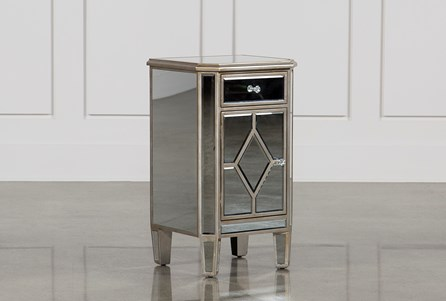 Display product reviews for HAYWORTH MIRRORED NIGHTSTAND