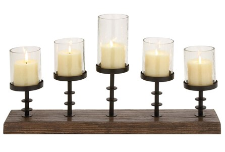 Display product reviews for WOOD METAL CANDLEABRA