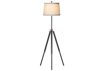 Display product reviews for FLOOR LAMP-BIXLER DARK BRONZE TRIPOD