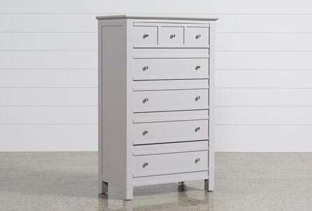 Display product reviews for BAYSIDE GREY CHEST OF DRAWERS