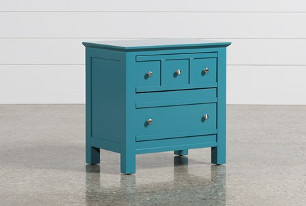 Display product reviews for BAYSIDE BLUE 2-DRAWER NIGHTSTAND