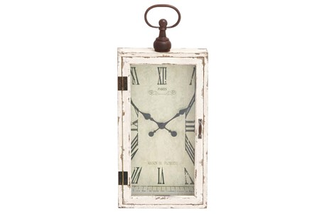 Display product reviews for 28 INCH WOOD & METAL WALL CLOCK