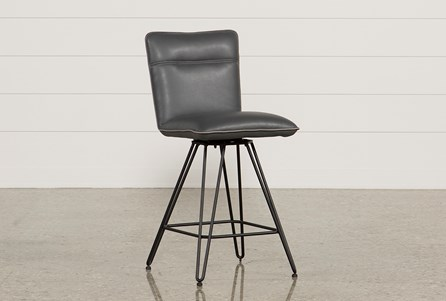 Display product reviews for KYLE 24 INCH COBALT COUNTER STOOL