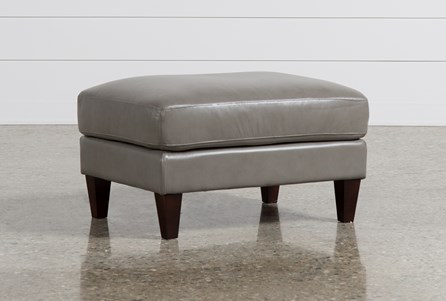 Display product reviews for INGRID LEATHER OTTOMAN