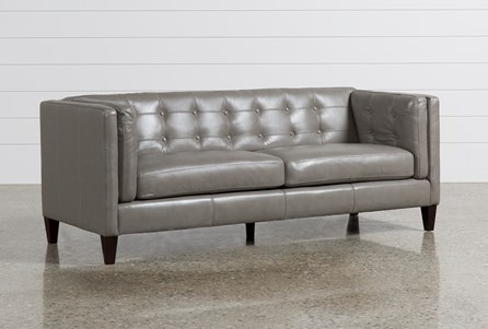 Display product reviews for INGRID LEATHER SOFA