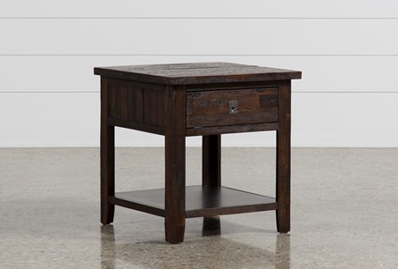 Display product reviews for PALMER SQUARE END TABLE
