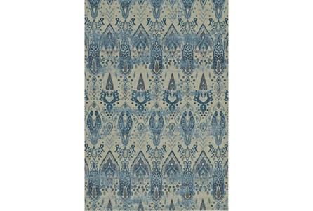 Display product reviews for 94X127 RUG-IKAT MEDALLIONS LINEN