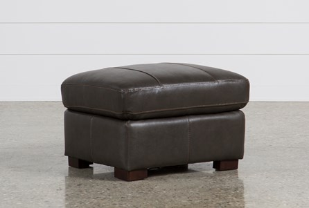 Display product reviews for ANDREW LEATHER OTTOMAN