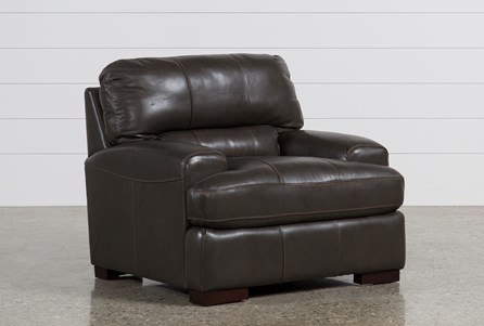 Display product reviews for ANDREW LEATHER CHAIR
