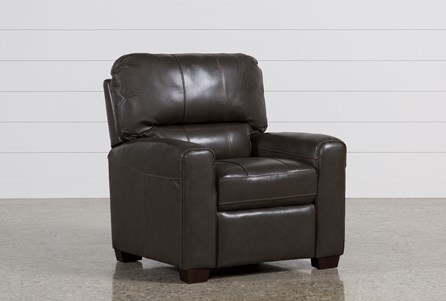 Display product reviews for ANDREW LEATHER RECLINER