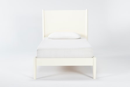 Display product reviews for KIT-ALTON WHITE TWIN PLATFORM BED