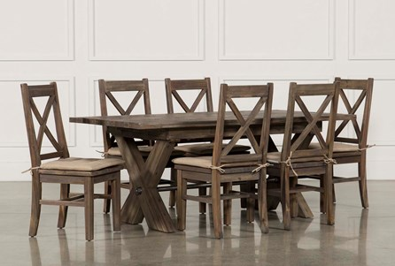 Display product reviews for KIT-MALLARD 7 PIECE EXTENSION DINING SET