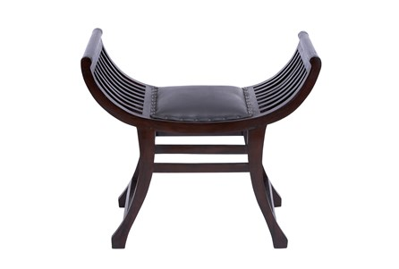 Display product reviews for WOOD & LEATHER STOOL
