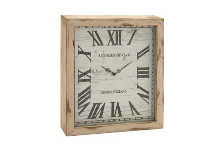 Display product reviews for 18 INCH RUTHERFORD CLOCK