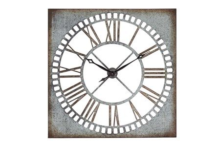 Display product reviews for 36 INCH AGED METAL ROMAN CLOCK