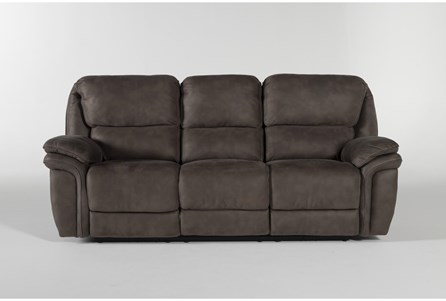 Display product reviews for NORFOLK GREY POWER RECLINING SOFA