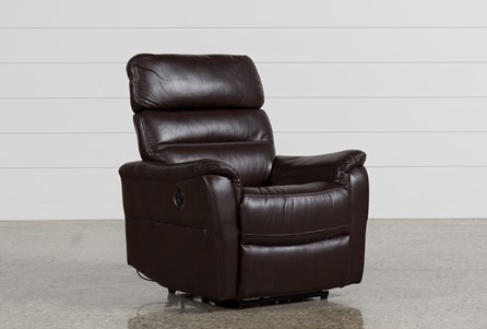Display product reviews for CARY CHOCOLATE POWER WALLAWAY RECLINER