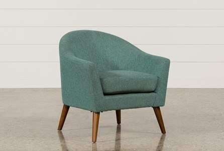 Display Product Reviews For Finn Teal Accent Chair