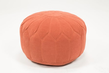 Display product reviews for POUF-VERONIQUE TANGERINE