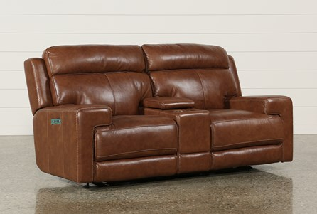 Display product reviews for WAYLON LEATHER POWER DUAL LOVESEAT W/POWER HEADREST/CONSOLE/USB
