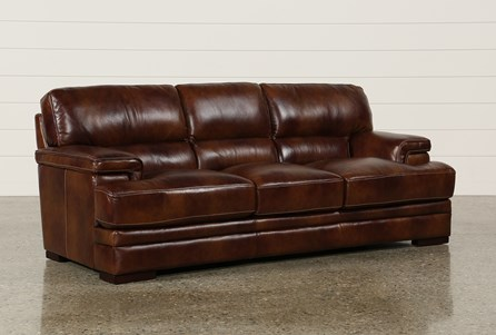 Display product reviews for RODRICK LEATHER SOFA