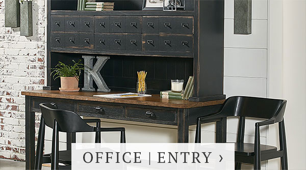 magnolia home office entry