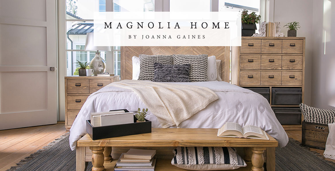 magnolia home hero image 3 - Joanna Gaines Bedroom