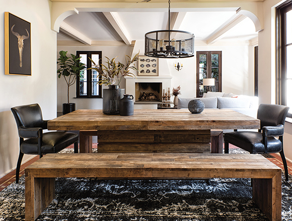 Rustic Dining Room Ideas Country With Tahoe Set