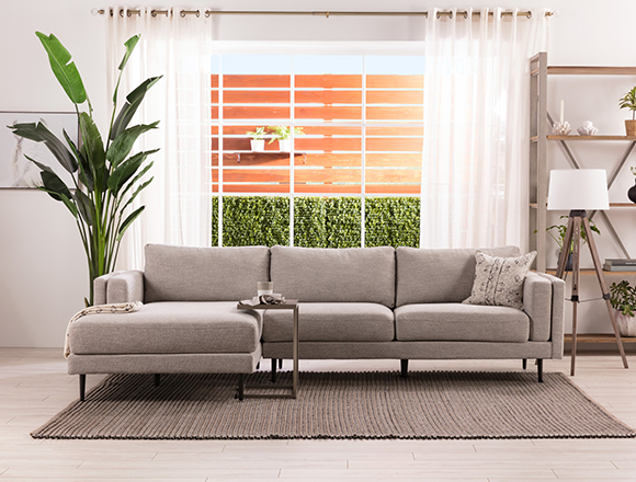 Modern Living room with Aquarius Sofa