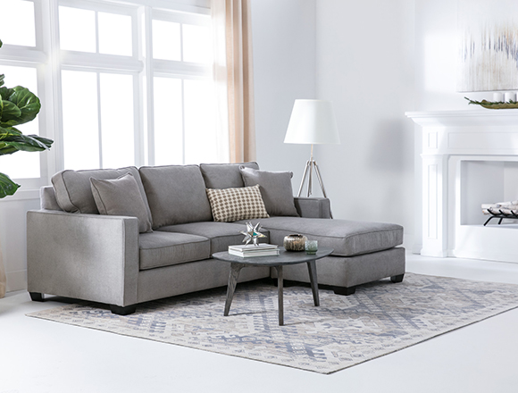 Modern Living Room With Benton Sofa