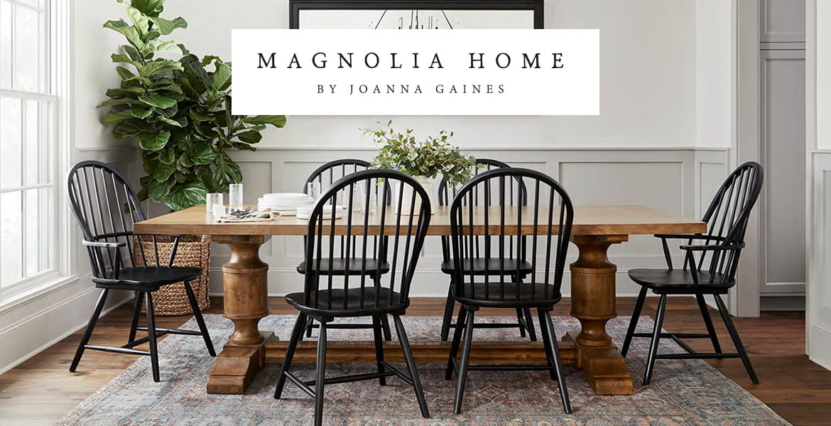 Outstanding Magnolia Home By Joanna Gaines At Living Spaces Customarchery Wood Chair Design Ideas Customarcherynet