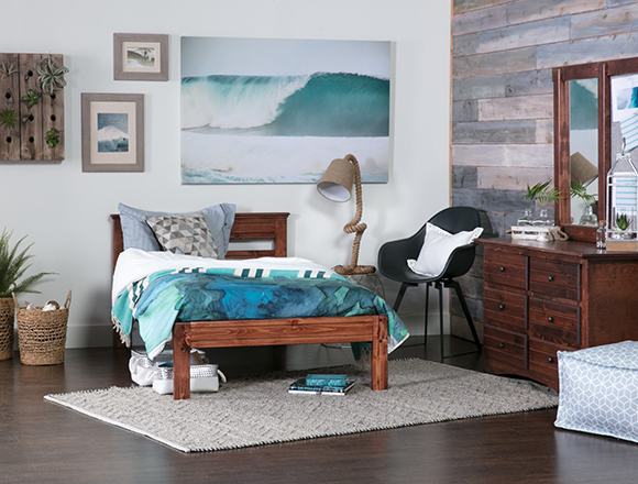Coastal Kids Room With Sedona Bed