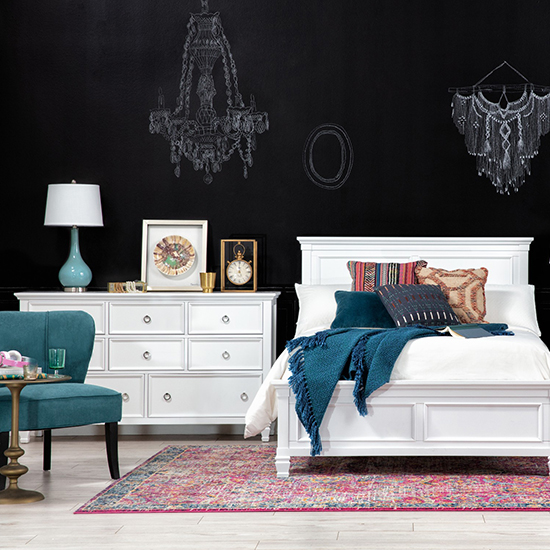 kids bedroom ideas white furniture