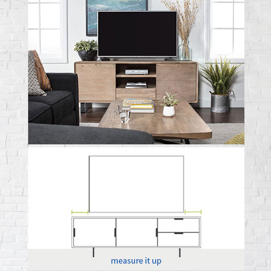 TV Stand Size Guide: Read This Before Buying | Living Spaces