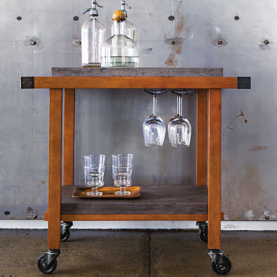 How To Style A Home Bar And Bar Cart With Bar Decor Living Spaces