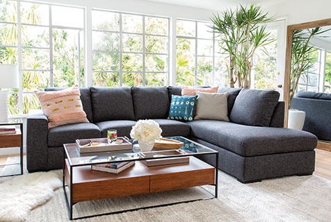 Sectional Sofas: Guide to Sofa Shape, Sofa Care and More ...