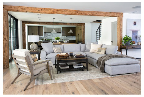 country style sectional