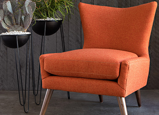 fall accent chair