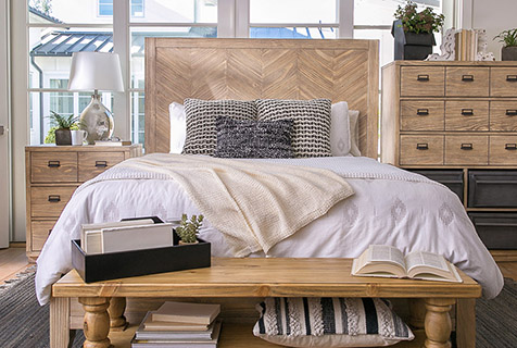 Where To Store Throw Pillows When It S Time For Bed Living Spaces