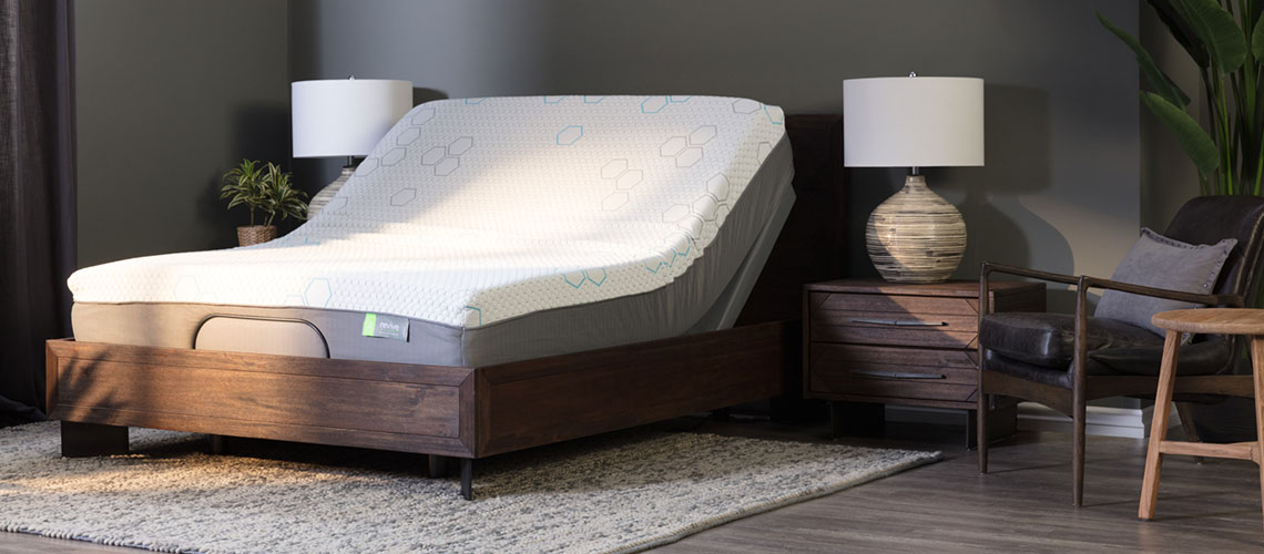 adjustable base with mattress