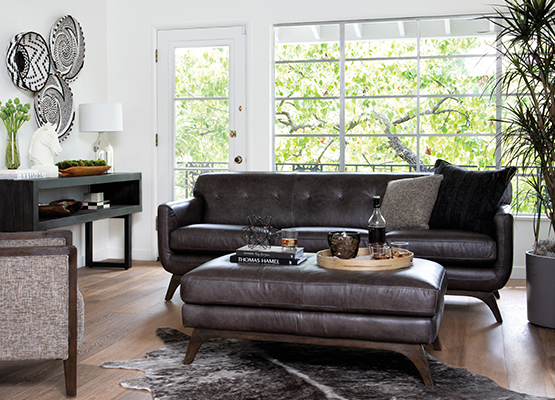 Leather Sofa Buying Guide Living Spaces