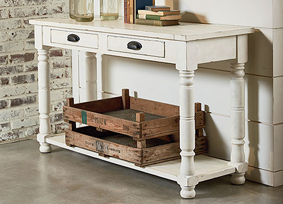 Magnolia Home Bobbin sofa table
