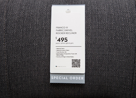 special order tag