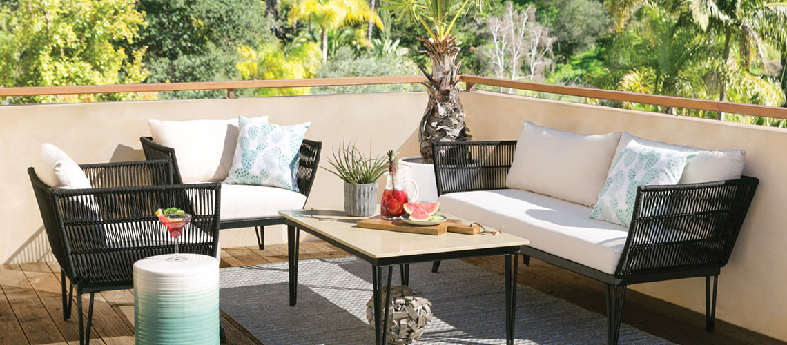 How To Pick The Best Material For An Outdoor Rug Living Spaces