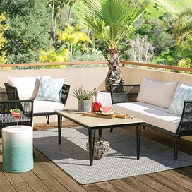Outdoor + Patio Furniture | Living Spaces on Living Spaces Patio Set id=93645
