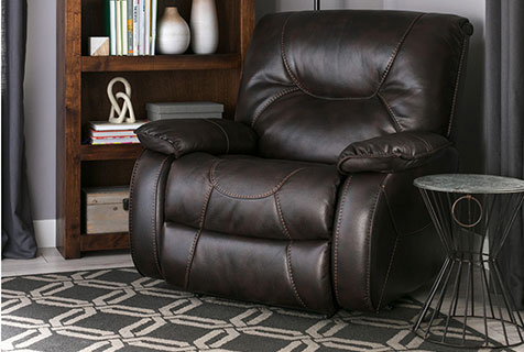 comfortable recliners lounging space