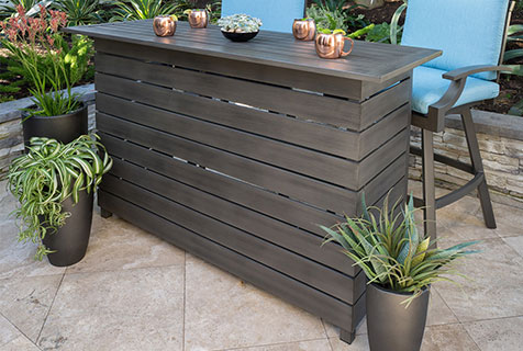 outdoor furniture bar