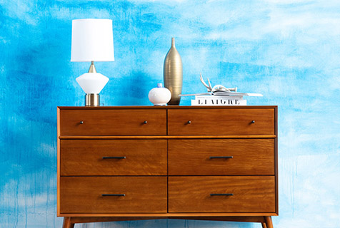 decor tips - trendy dressers