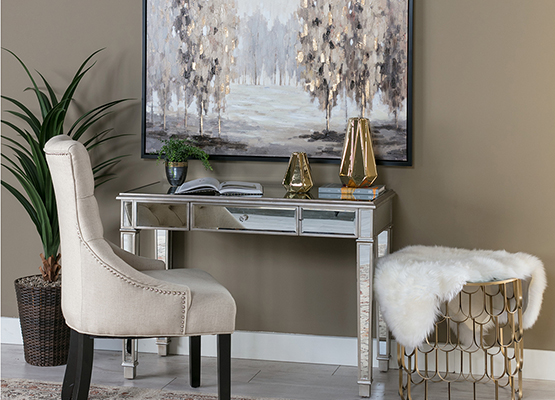6 Tips For Bringing Metallic Decor Into Your Home Living Spaces