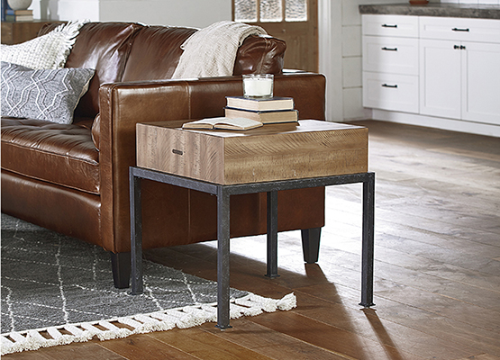 sidechair end table